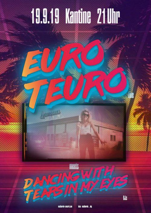 Euro Teuro Plakat von eve massacre