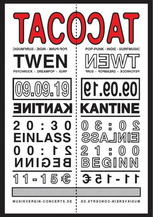 Tacocat Plakat von Philip Manthey